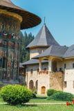 The Sucevita Monastery in Romania. The Sucevita Monastery is a Romanian Orthodox monastery situated in the commune of Sucevitai, Romania Royalty Free Stock Images