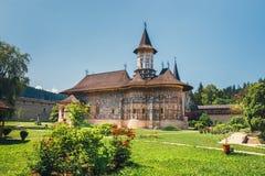 The Sucevita Monastery in romania. The Sucevita Monastery is a Romanian Orthodox monastery situated in the commune of Sucevitai, Romania Stock Photography