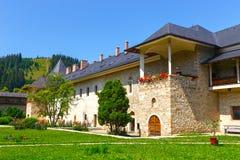 The Sucevita Monastery, Suceava County, Moldavia, Romania Stock Photos