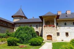 The Sucevita Monastery, Suceava County, Moldavia, Romania Stock Images