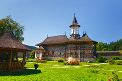 The Sucevita Monastery, Suceava County, Moldavia, Romania. The Sucevita Monastery is a Romanian Orthodox monastery situated in the commune of Sucevita, Suceava Royalty Free Stock Photo