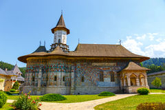 Sucevita Monastery , Suceava County, Romania Stock Photos