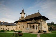 Sucevita orthodox painted monastery, Bucovina Royalty Free Stock Image