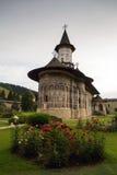 Sucevita orthodox painted monastery, Bucovina Stock Image