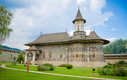 Sucevita Orthoodox Monastery in Moldavia Region of Romania Royalty Free Stock Photo