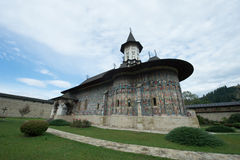 Sucevita Orthoodox Monastery in Moldavia Region of Romania Stock Photo