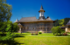 Sucevita Painted Monastery. In Romania. It is a UNESCO World Heritage site Stock Photo