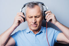 Such music is not for me. Royalty Free Stock Photography