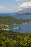 Mediterranean - seascape Royalty Free Stock Photo