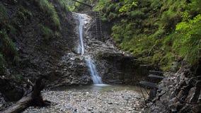 Sucha Bela gorge in Slovensky raj National park , Slovakia Royalty Free Stock Photos
