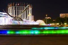 Sucha fontanna przy Crimea bulwarem Obrazy Stock