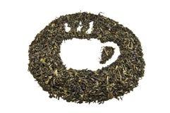 sucha herbata Obrazy Royalty Free