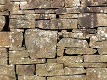sucha kamienna ściana Fotografia Royalty Free