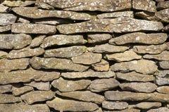 sucha kamienna ściana Fotografia Stock