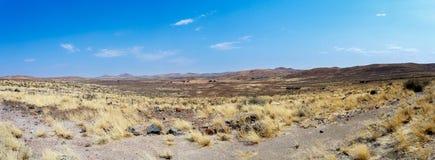 Sucha Namib pustynia w zmierzchu, krajobraz Obraz Royalty Free