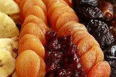 sucha owoców Zdjęcia Stock
