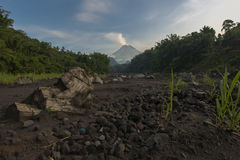 sucha rzeki Zdjęcie Royalty Free
