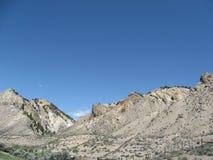 Sucha Skalistej góry sceneria Obrazy Stock