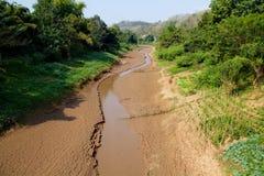 Sucha Vistula rzeka fotografia royalty free