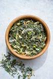Sucha ziołowa herbata Fotografia Royalty Free