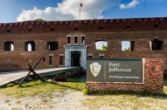 suche fort Jefferson parku narodowego tortugas zdjęcia royalty free