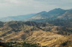 suche krajobrazu Północny Kurdystan, Turcja fotografia stock