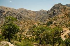 suche krajobrazu Północny Kurdystan, Turcja obraz stock