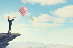 Suche nach Perspektiven! Lizenzfreies Stockfoto