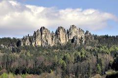 Suche skały Zdjęcie Stock