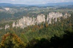 Suche skaly, Czech republic Stock Image