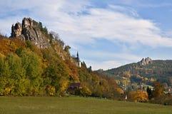 Suche skaly, République Tchèque photo libre de droits