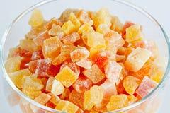 Suche tropikalne owoc zdjęcie stock