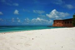 Suchego Tortugas parka narodowego klucza Floryda Zachodnia fotografia fotografia stock