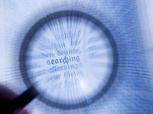Suchen lizenzfreies stockfoto