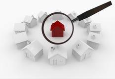 Suchen des Hauses Lizenzfreie Stockbilder