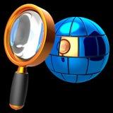 Suchen des Konzeptes Stockfotos