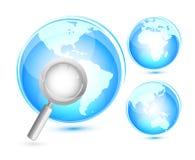 Suchen. Konzept Stockfoto
