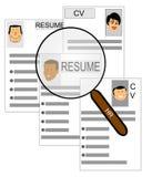 Suchen nach Arbeit Lizenzfreie Stockbilder
