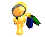 Suchen nach dem Übereinkunftverkaufseinkaufen stock abbildung