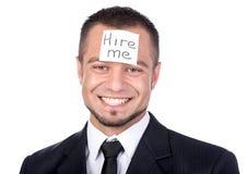 Suchen nach einem Job Lizenzfreie Stockfotografie