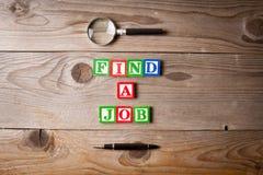Suchen nach einem Job Lizenzfreies Stockbild