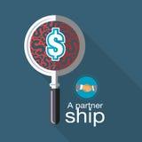 Suchen nach einem Jointventure zu einem rentableren Geschäft Lizenzfreie Stockfotos