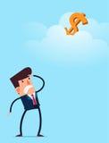 Suchen nach einer Geschäftschance Stockbild