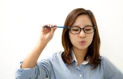 Suchen nach Inspiration Lizenzfreies Stockfoto