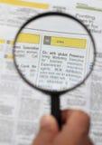 Suchen nach Job Stockbild