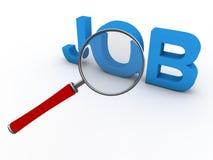 Suchen nach Job lizenzfreie abbildung