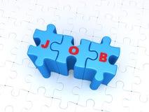 Suchen nach Jobkonzept Lizenzfreie Stockbilder