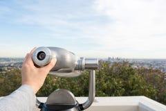 Sucher bei Griffith Observatory Lizenzfreie Stockbilder