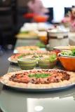 Suchi Buffet. Japanese buffet style suchi set Stock Image
