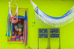 Suchitoto , El Salvador. MAY 07 : Architectural details in Suchitoto El Salvador on May 07 2016. the colonial town of Suchitoto built by the Spaniards in the Royalty Free Stock Photo
